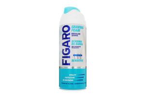 Пена для бритья для чувствительной кожи Figaro 400мл