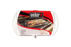 Сетка д/рыбы/овощей Weber большая нерж.сталь 6471