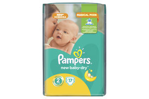 Подгузники Pampers Micro Pack New Baby Mini (2) 3-6кг 17шт