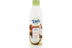 Tom's Of Maine Natural Mositurizing Body Wash Creamy Coconut With Virgin Coconut Oil