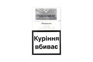 Сигареты Parliament Platinum 20шт