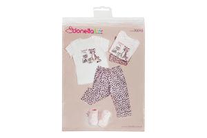 Пижама для девочки Donella 8-9лет Z3