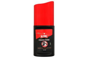 Крем-блеск для обуви жидкий черный Colour Shine Kiwi 50мл