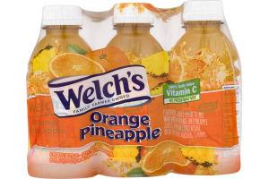 Welch's Orange Pineapple - 6 PK