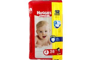 Huggies Snug & Dry Diapers Size 2 - 38 CT