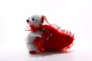 Игрушка мягкая Мишка с сердцем №112309 SKY 1шт