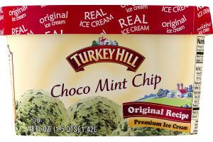 Turkey Hill Original Recipe Premium Ice Cream Choco Mint Chip