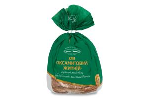 Хліб Київхліб Оксамитовий житній нар.ск.350г в упак.