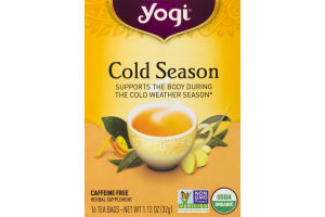Yogi Cold Season Tea Bags