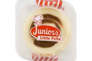 Junior's Little Fella Cheesecake Chocolate Swirl