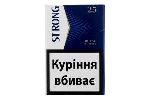 Сигариллы с фильтром Strong Royal Compact 25шт