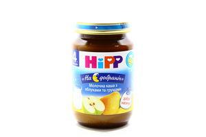 Каша Hipp молочна з яблуками та грушами 190г х6