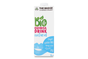 Напиток рисовый The Bridge с киноа органический