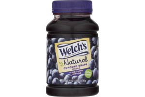 Welch's Natural Fruit Spread Concord Grape