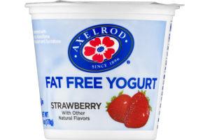 Axelrod Fat Free Yogurt Strawberry