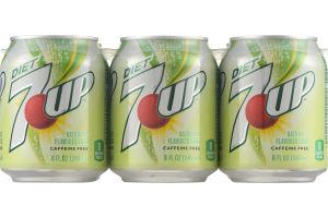 Diet 7-Up Soda - 6 PK