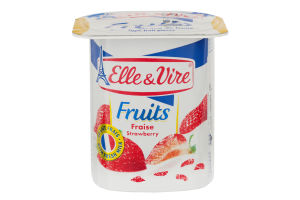 Десерт молочний 1.5% з полуницею Elle&Vire ст 125г
