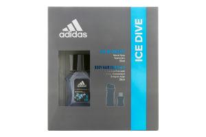 Набір для чоловіків Туалетна вода+гель для душу Ice Dive 2020 Adidas 1шт
