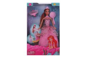 Кукла для детей от 3лет №8188 Русалка Defa 1шт