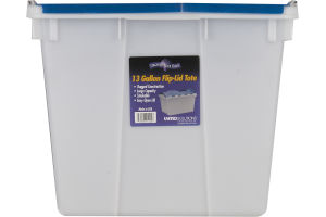 Organize Your Home 13 Gallon Tote Flip-Lid