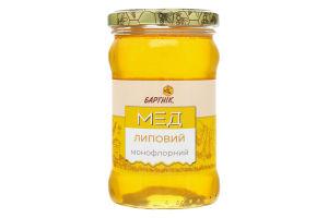 Мед монофлорный Липовый Бартнік с/б 400г