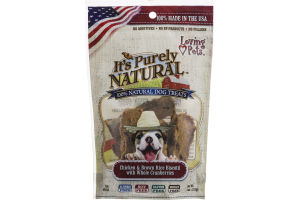 Loving Pets It's Purely Natural Dog Treats Chicken & Brown Rice Biscotti with Whole Cranberries
