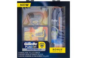 Gillette Fusion Proshield Razor Kit