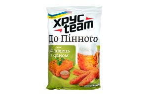 Сухарики хрустящие со вкусом холодца и хрена Хрусteam м/у 110г