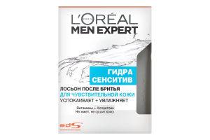 Лосьйон після гоління для чутливої шкіри Гідра сенсітів Men expert L`Oreal 100мл