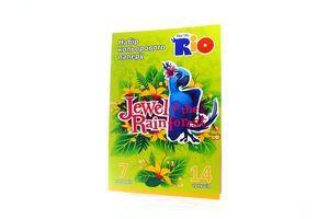 Бумага Cool for School Rio цветная А4 14л арт.RI00210