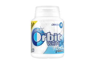 Резинка жевательная без сахара Свежая мята White Orbit п/б 64г