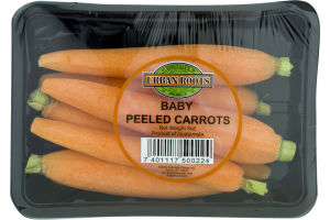 Urban Roots Baby Peeled Carrots