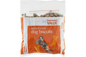 Guaranteed Value Dog Biscuits Multi-Flavor