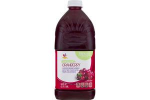 Ahold Lower Sugar Juice Beverage Cranberry