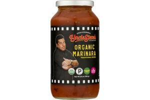 Uncle Steve's Organic Marinara