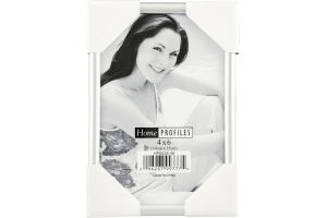 Home Profiles 4x6 Picture Frame Silver