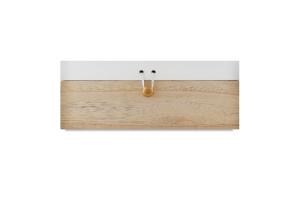Коробка для дрібниць дерев'яна 24х16х9см №838672 Koopman International BV 1шт