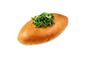 Пирожки с горохом и зеленью