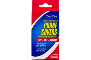 CareOne Digital Thermometer Probe Covers - 30 CT