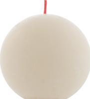 Свеча Bolsius шар мягкий жемчуг 76мм