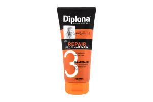 Маска для сухого та пошкодженого волосся Diplona 200мл