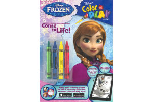 Disney Color and Play with Stickers Frozen