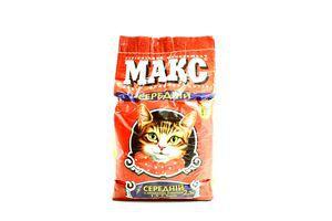 Наповнювач Макс для котів середній 2,5 кг х8