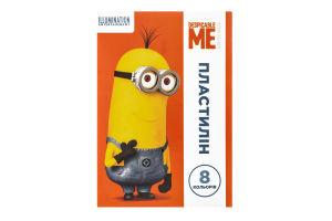 Пластилин для детей от 3лет из 8 цветов №118528 Universal Studios Despicable Me 1шт