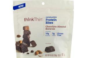 thinkThin Protein Bites Chocolate Almond Brownie