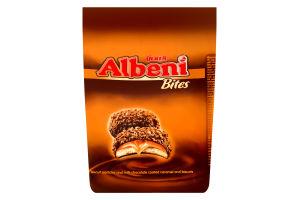 Печенье с молочно-шоколадной глазурью и карамельной начинкой Albeni Ülker м/у 144г