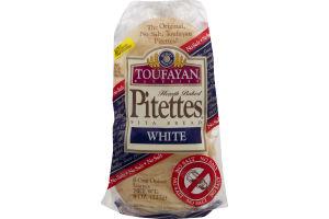 Toufayan Bakeries Pitettes Pita Bread White - 8 CT