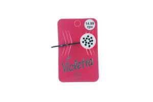 Невидимка для волос детская №124444 Violetta 1шт