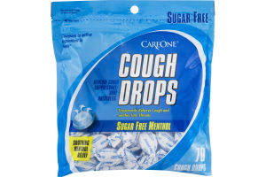 CareOne Cough Drops Sugar Free Menthol - 70 CT