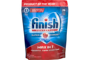 Finish Powerball Super Charged Max In 1 - 26 CT